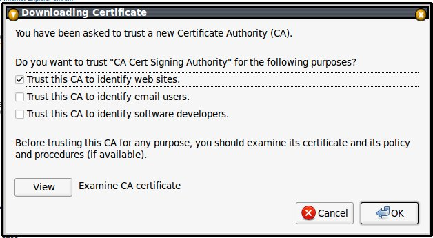 cacert.org root.crt elfogadása