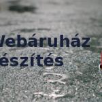 Webáruház készítés