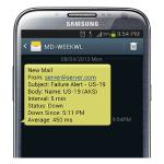 SMS riasztási szolgáltatás